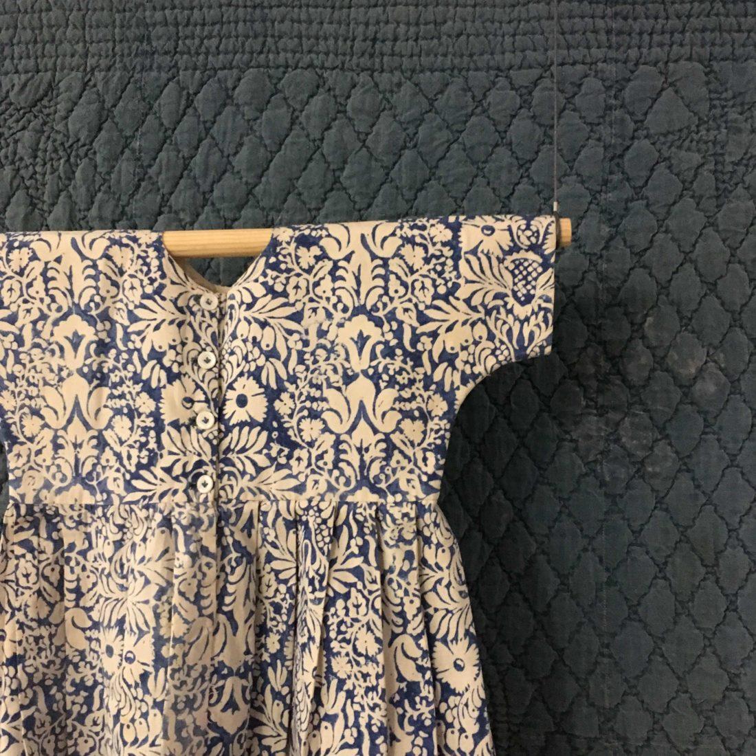 Musée de Bourgoin-Jallieu - Indigo tissus robe