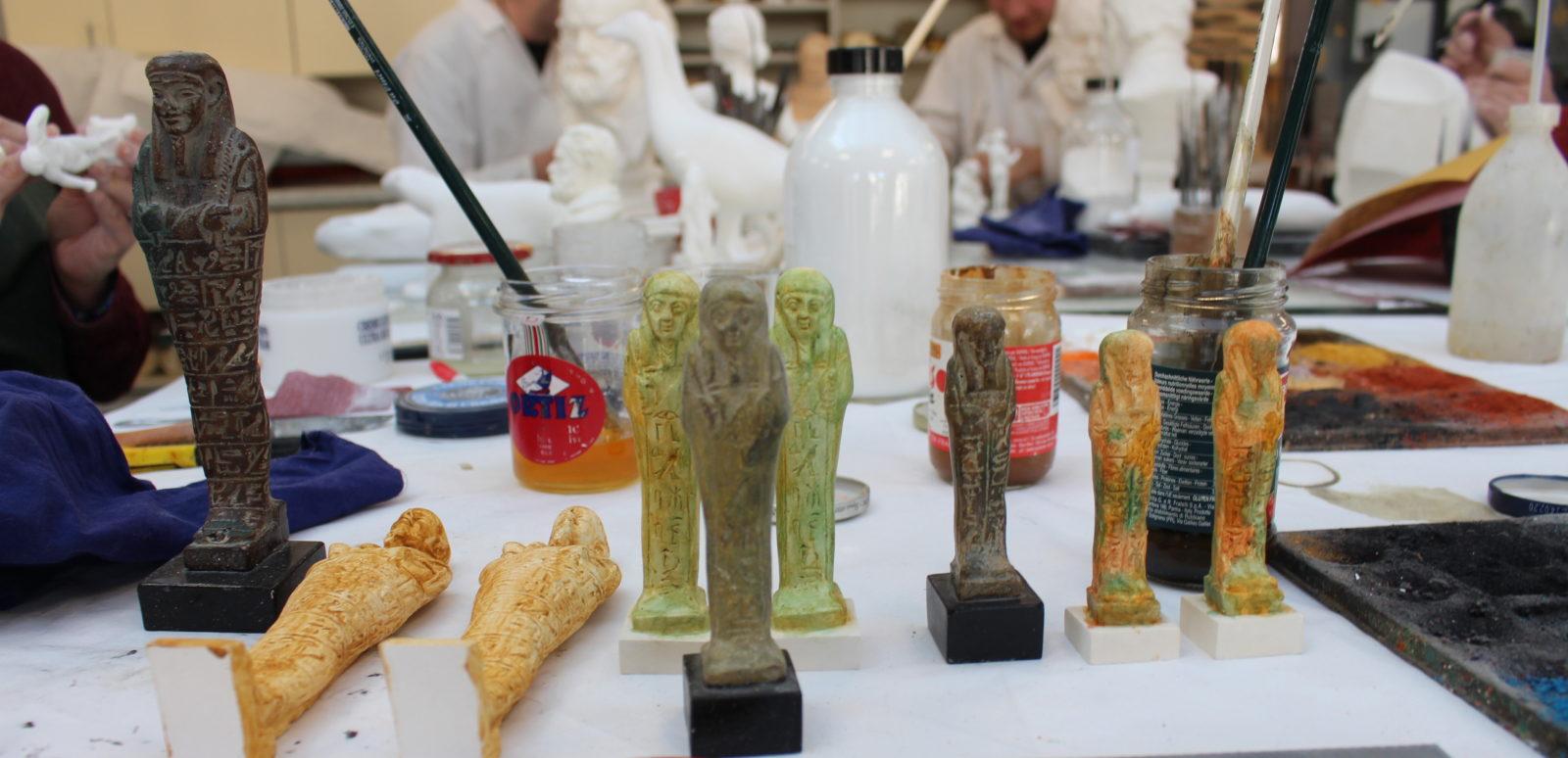 Besançon atelier de moulage - moulages egyptiens