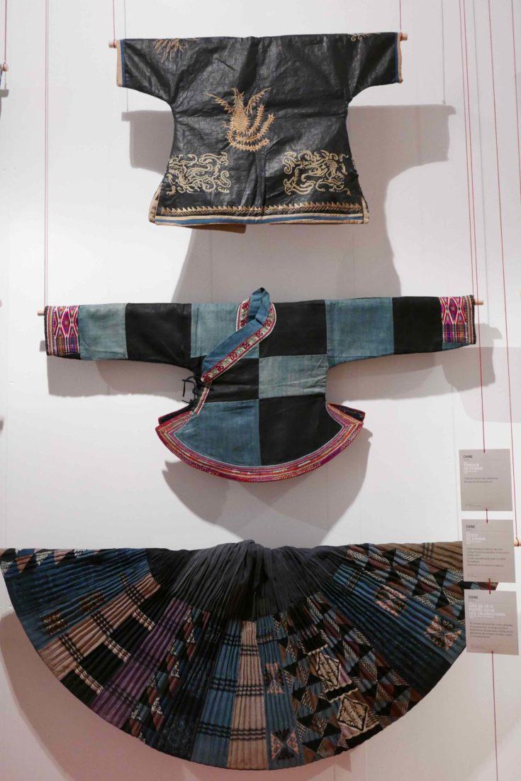 Musée de Bourgoin-Jallieu - Indigo vestes