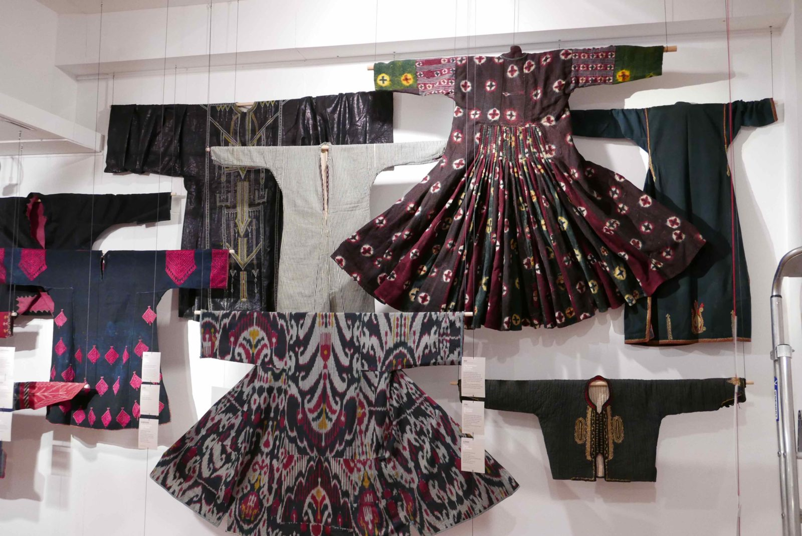 Musée de Bourgoin-Jallieu - Indigo robes vestes