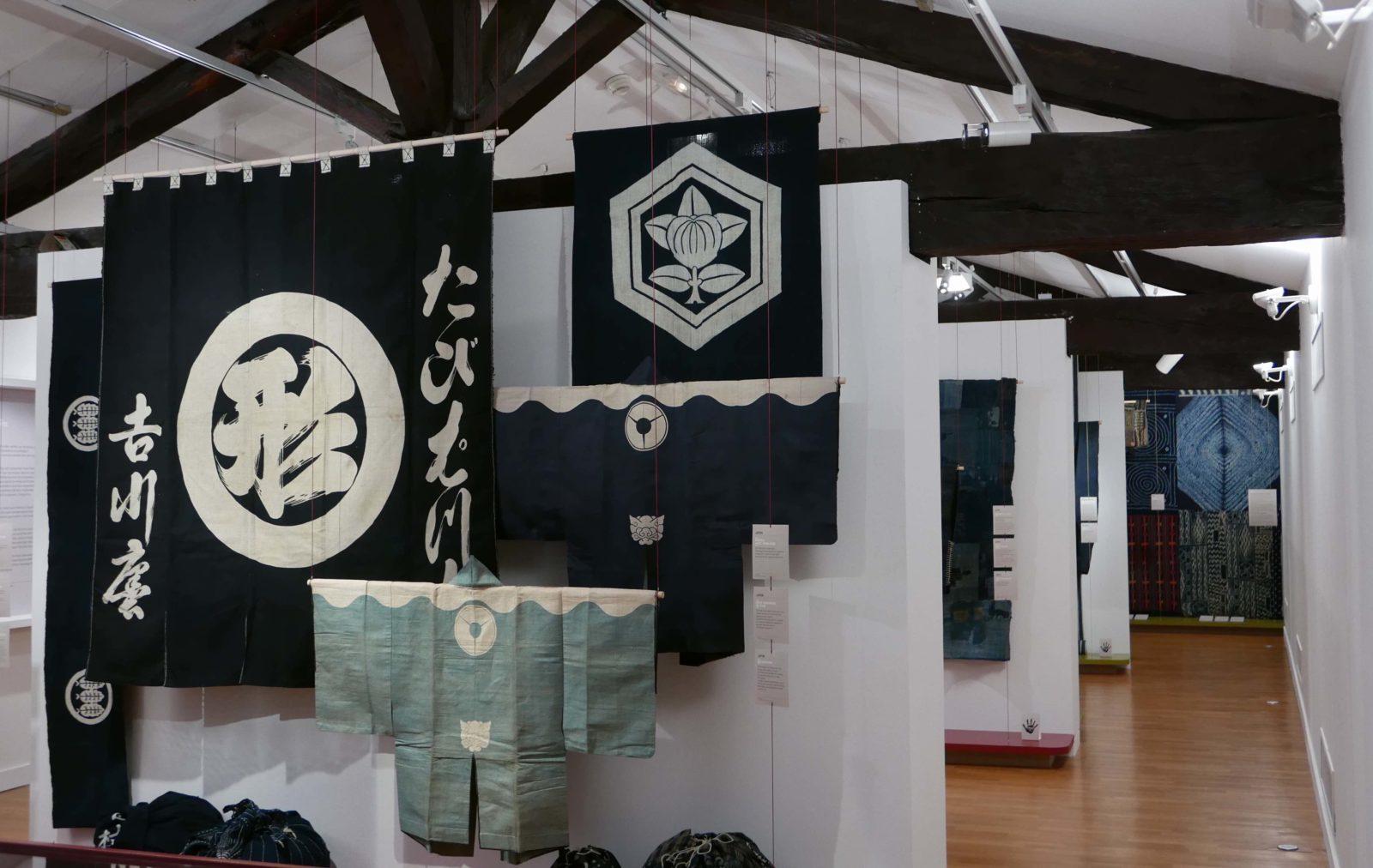 Musée de Bourgoin-Jallieu<br>kimonos exposition Indigo