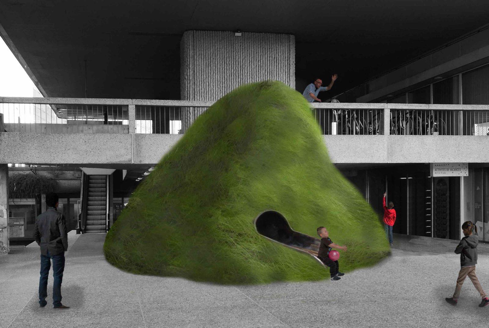 Lausanne Jardins 2019 Vert de terre