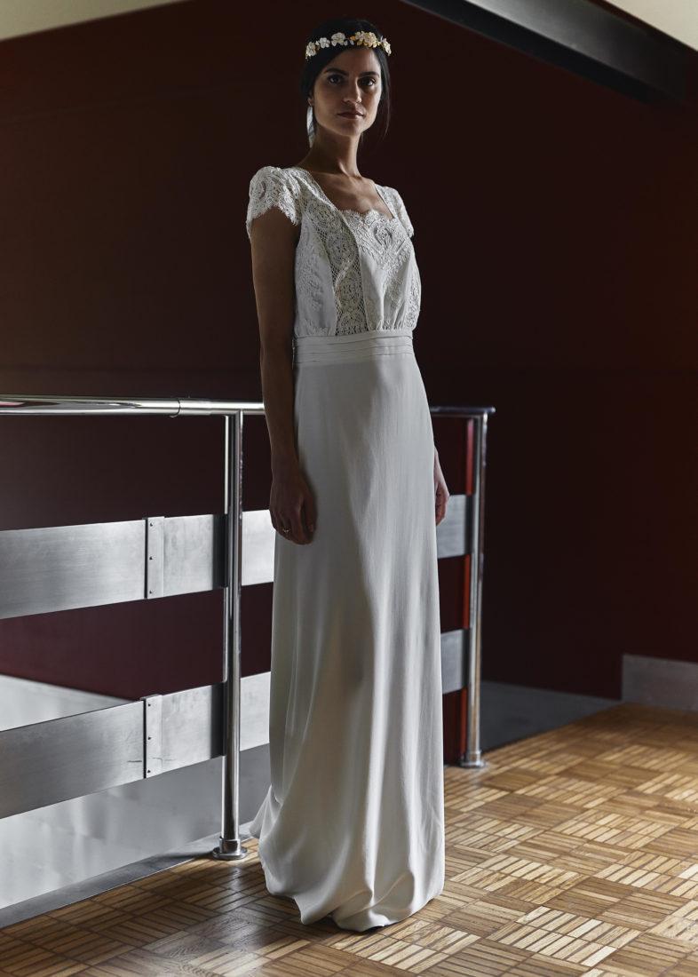 Calais cité dentelle et mode Laure de Sagazan_Robe de mariée