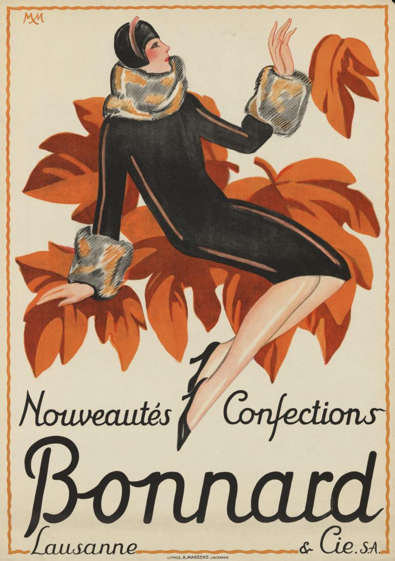 Bonnard & Cie S.A. Lausanne, lithographie
