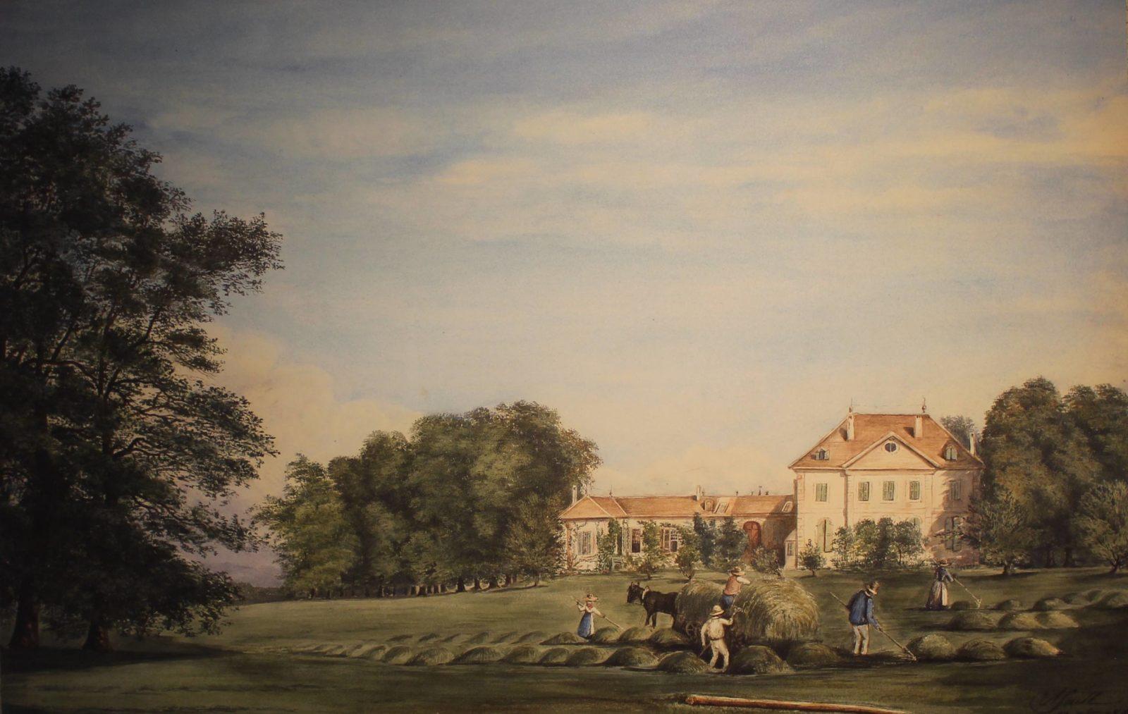 Voltaire chez lui Château de Ferney