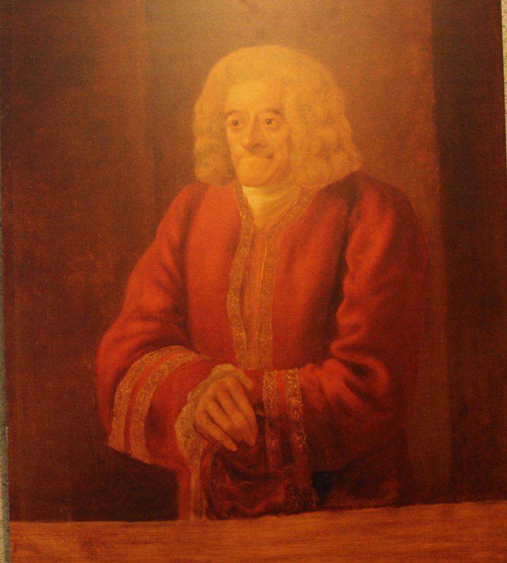 Voltaire chez lui Portrait de Voltaire par Jean Huber
