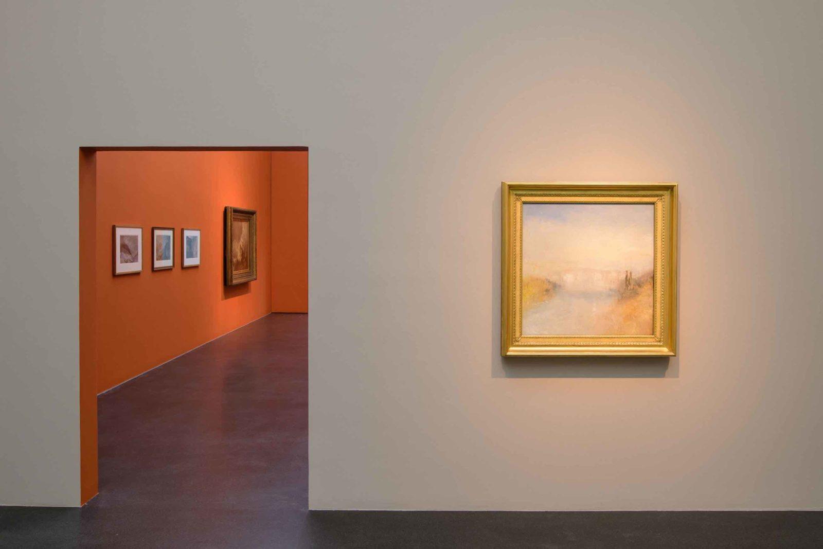 Turner. Das Meer und die Alpen Vue musée Lucerne