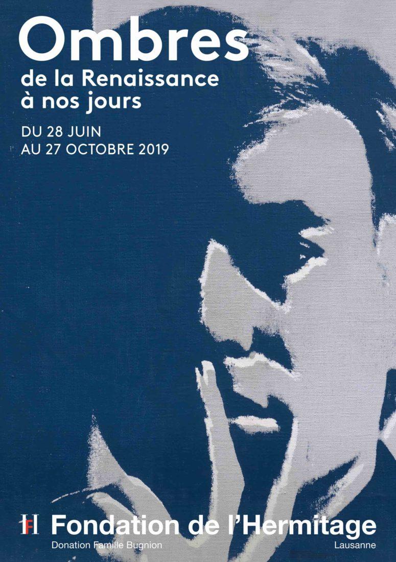 Andy Warhol Autoportrait, Affiche expo Hermitage Lausanne