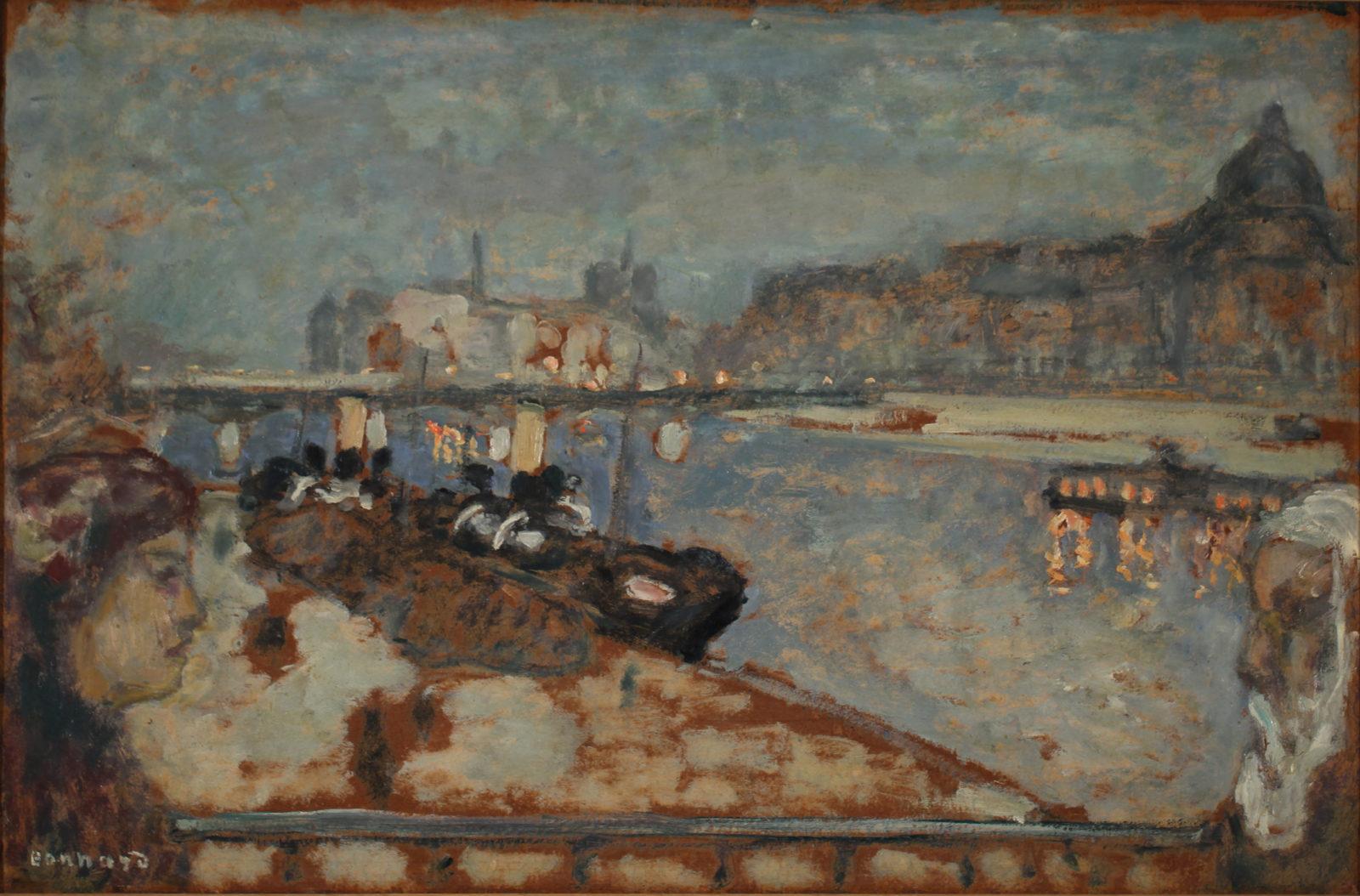 Le Cannet Pierre Bonnard Les Quais de Paris,