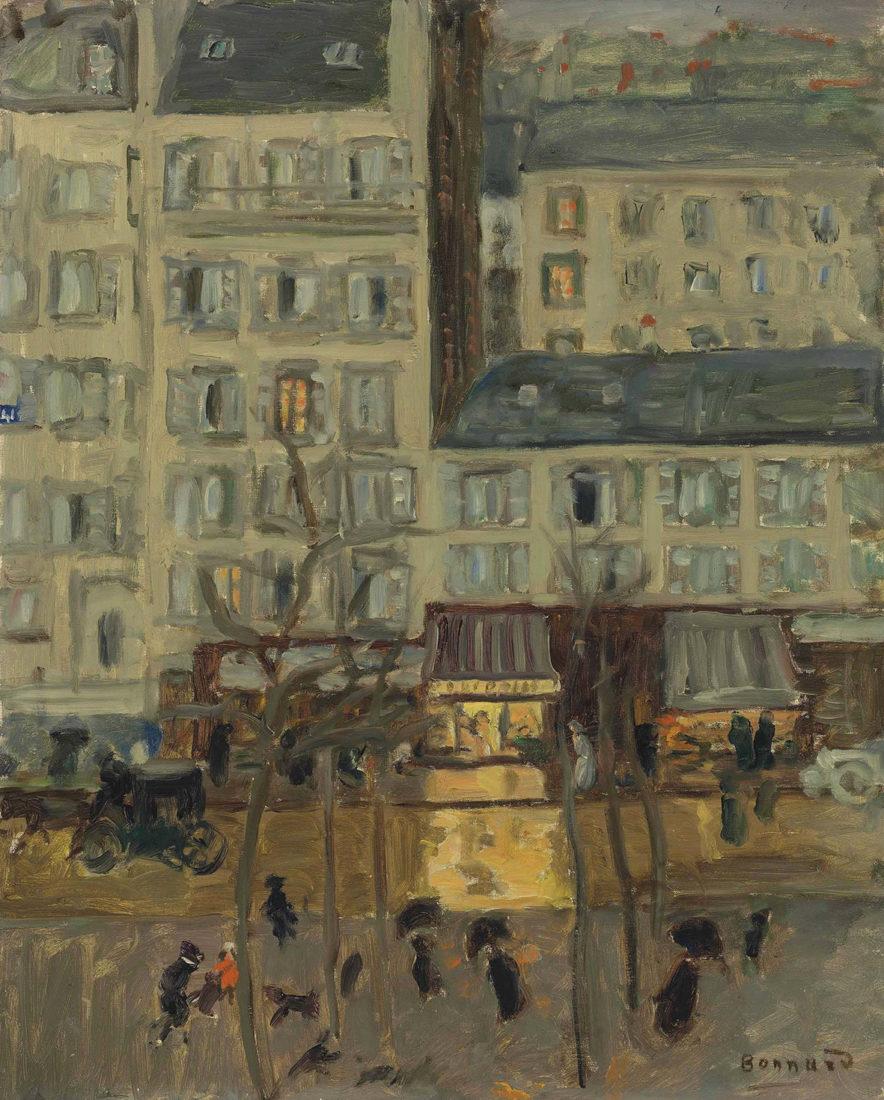 Le Cannet Pierre Bonnard Paysage parisien