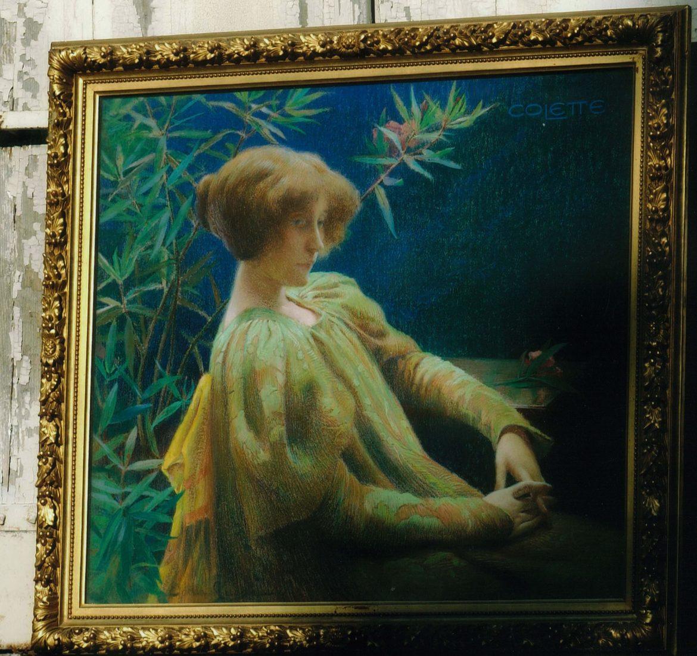 portrait de Colette par Della Sudda (Collection particulière).