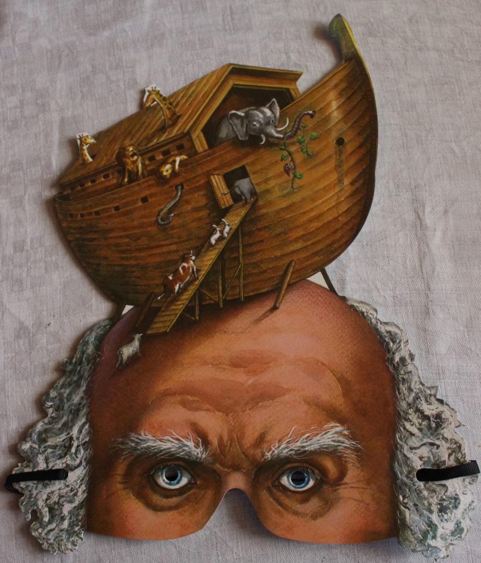 Fête des Vignerons 2019 masque de Noé