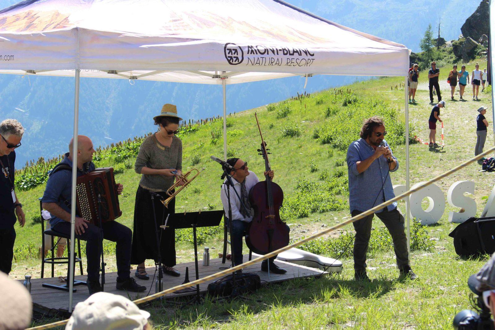Cosmojazz Chamonix 2019 trio Gardel et Manoukian Plan Praz