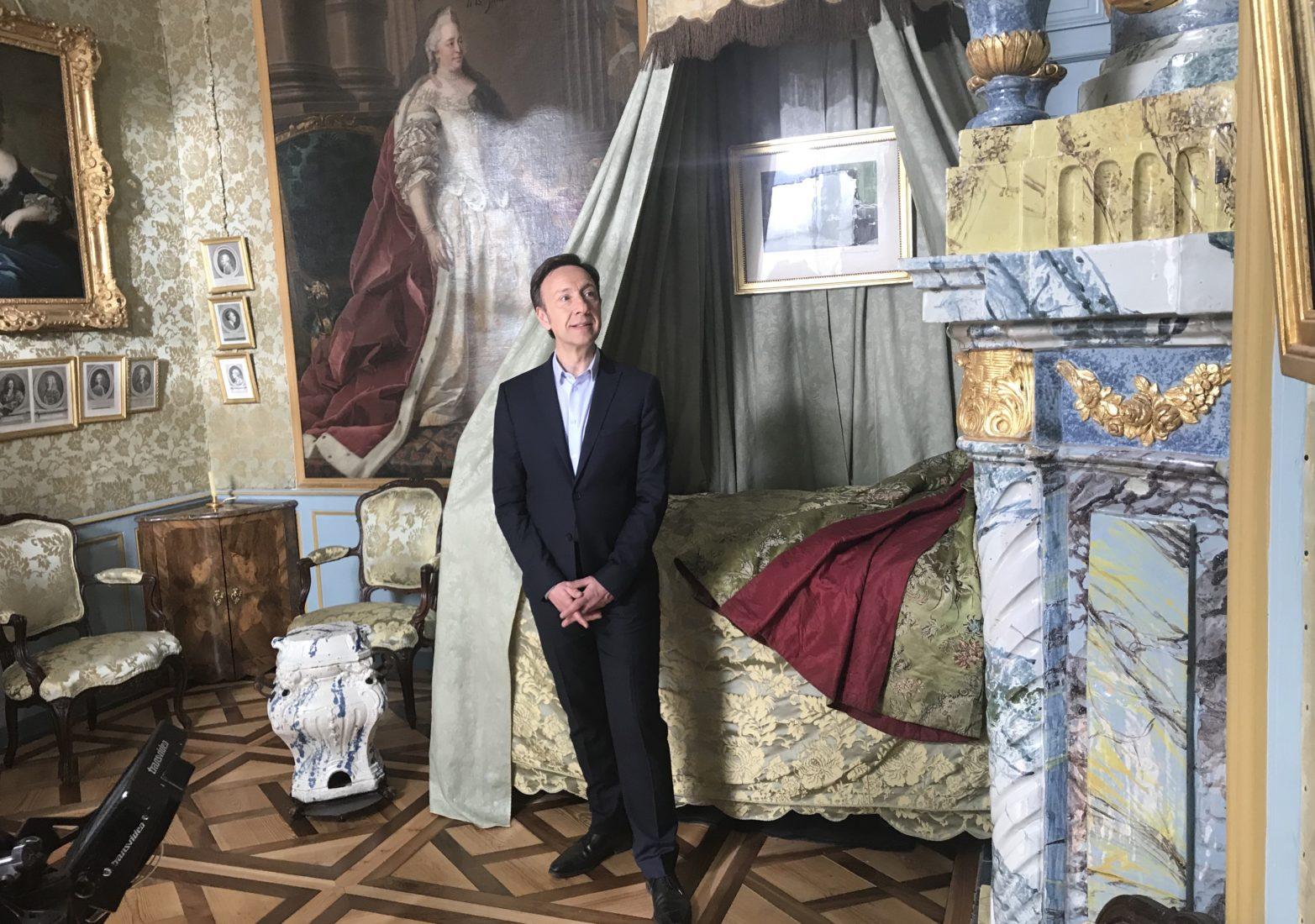 château de Ferney-Voltaire tournage Stéphane Bern
