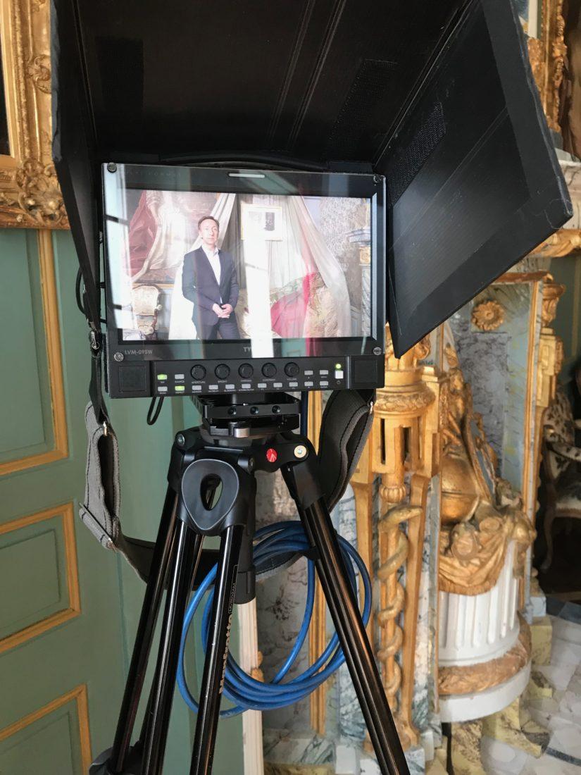 château de Ferney-Voltaire tournage Secrets d'histoire