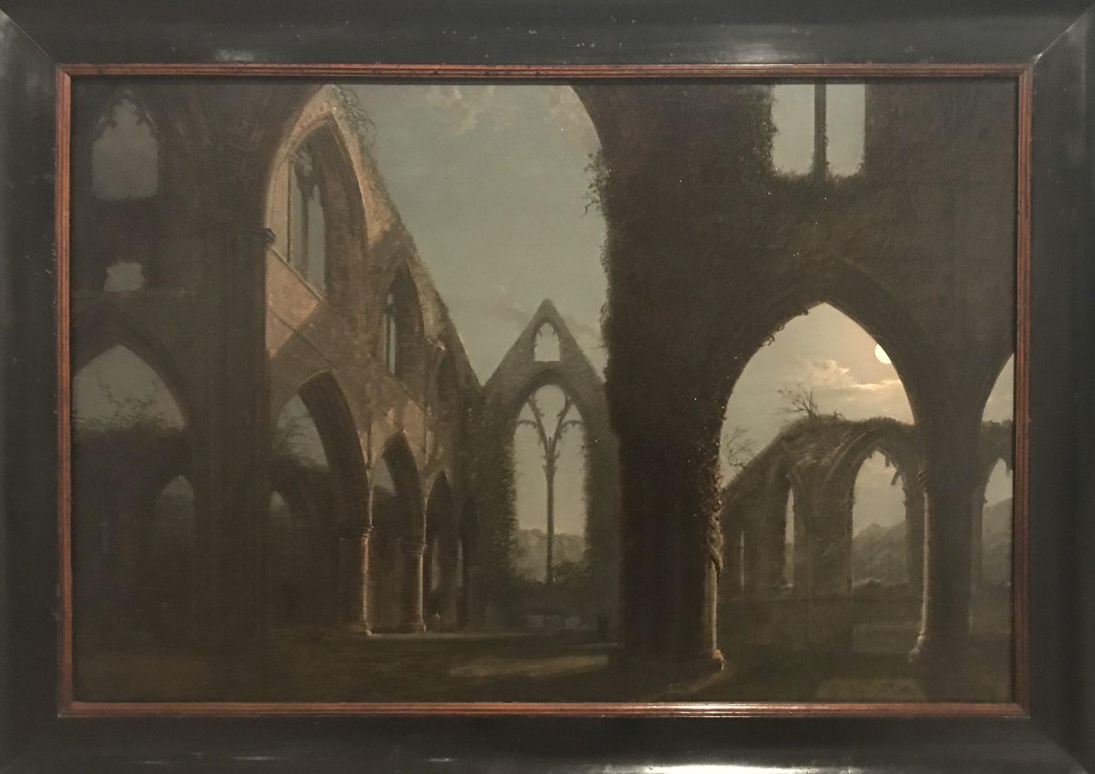 Carl Gustav Carus abbaye de Tintern au clair de lun