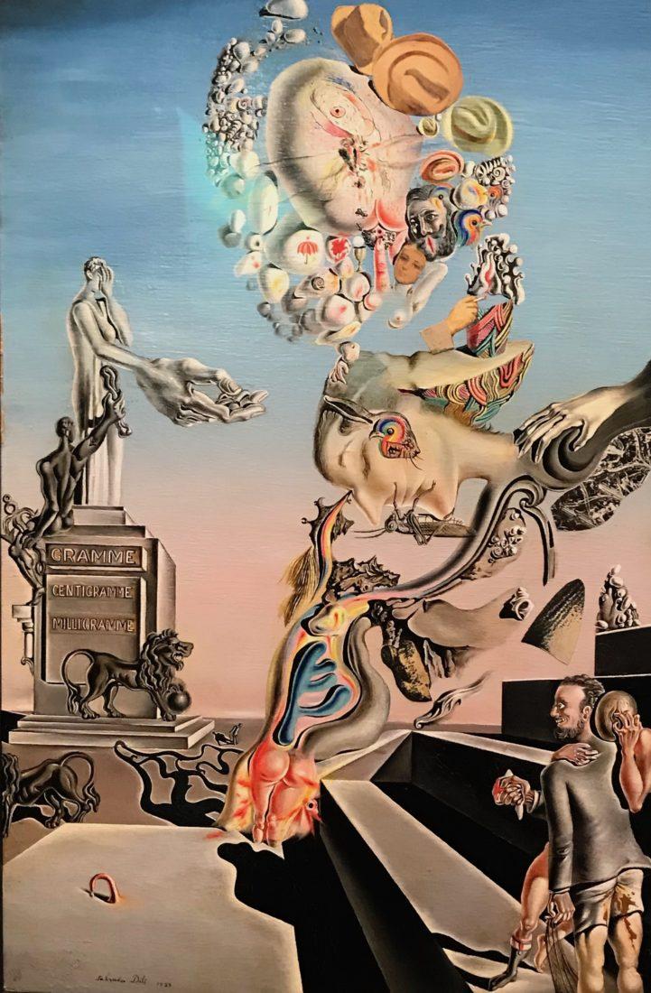 Salvador Dali Le jeu lugubre