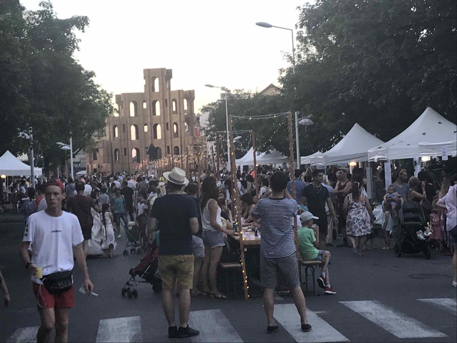 Fête à Ferney-Voltaire 2019 ambiance de rue