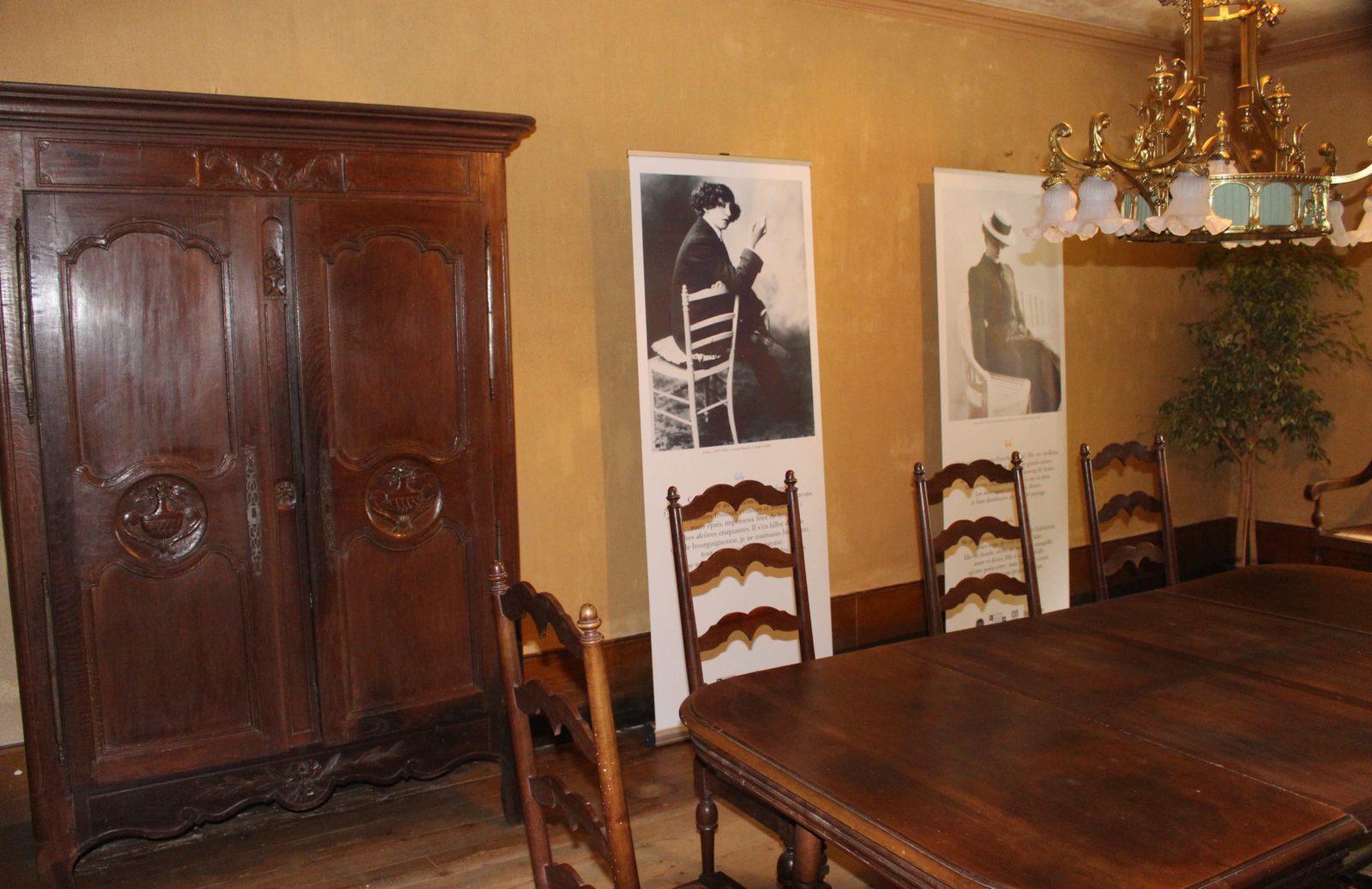 Monts-Boucons maison de Colette Besançon salle à manger armoire