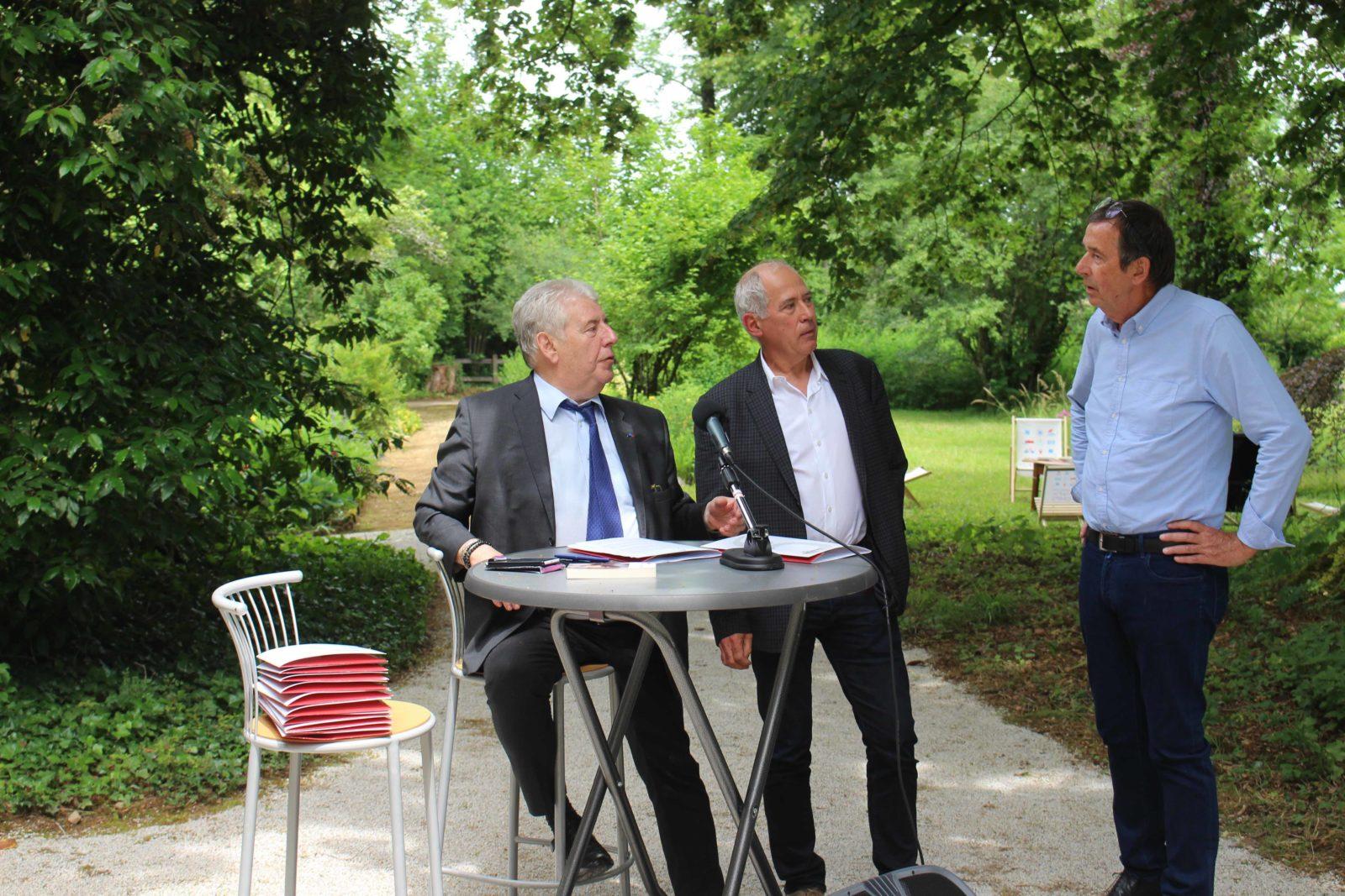 Monts-Boucons Besançon Florent Werguet, Lionel Estavoyer, JL Fousseret
