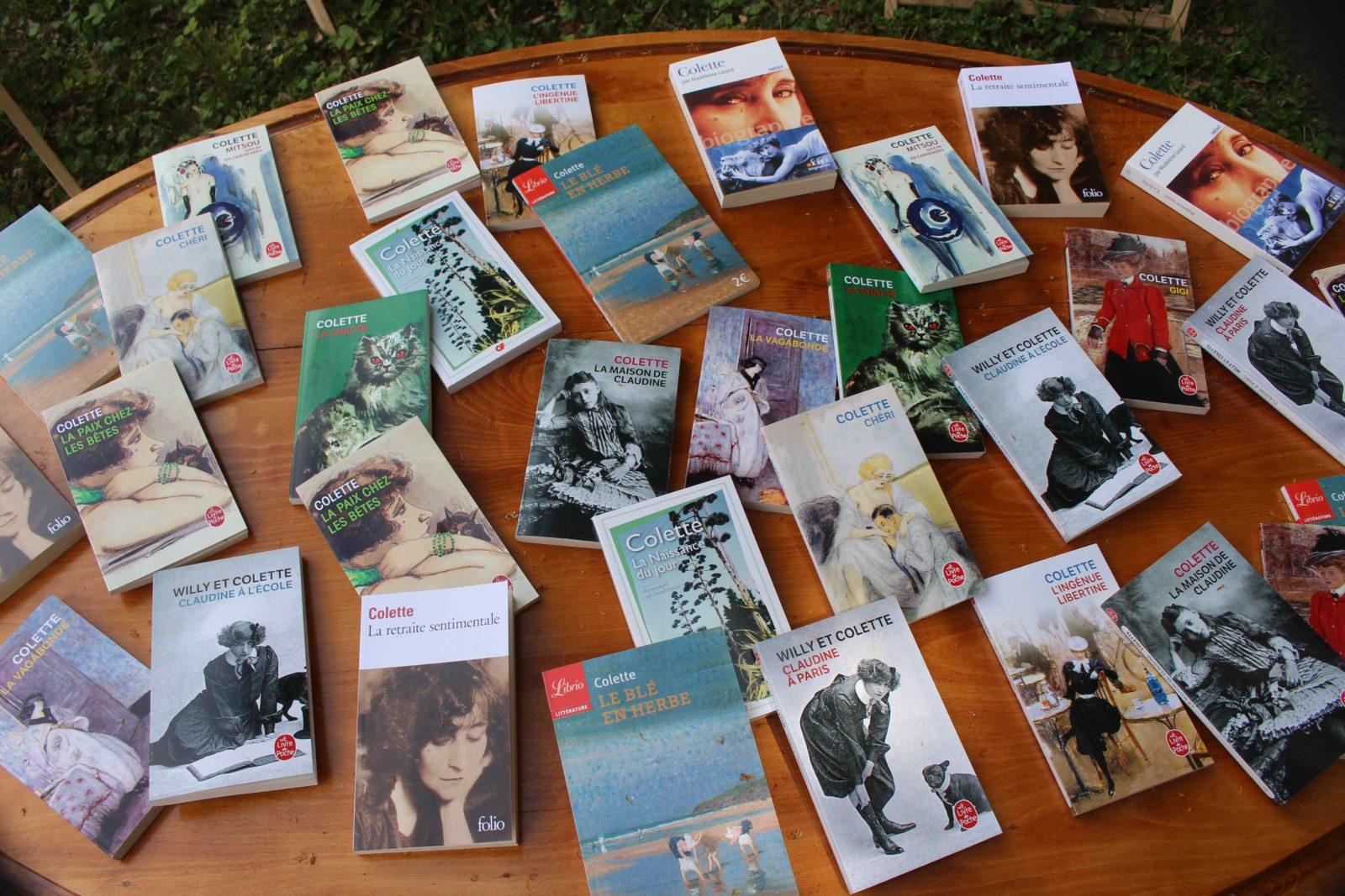 Monts-Boucons Besançon livres de Colette