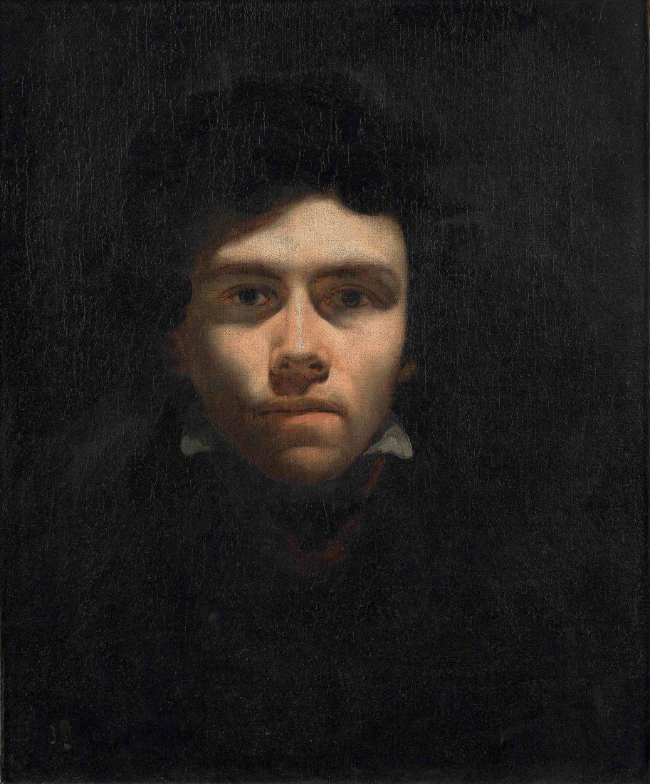 Eugène Delacroix Autoportrait
