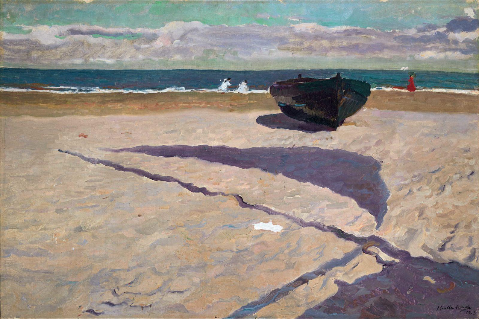 Joaquín Sorolla y Bastida L'ombre de la barque,