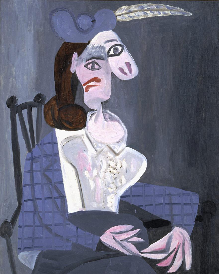 Le Cannet Picasso, Femme dans un fauteuil, Dora Maar,