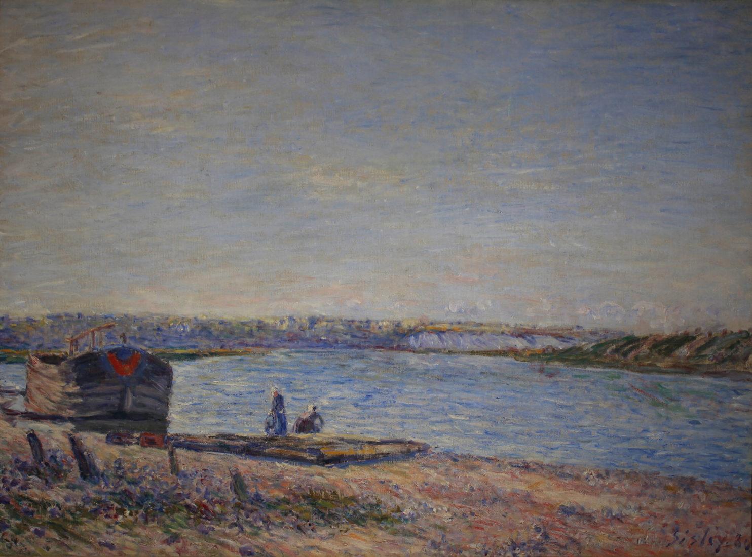 Le Cannet Monet,Sysley Les coteaux de veneux coll Nahmad