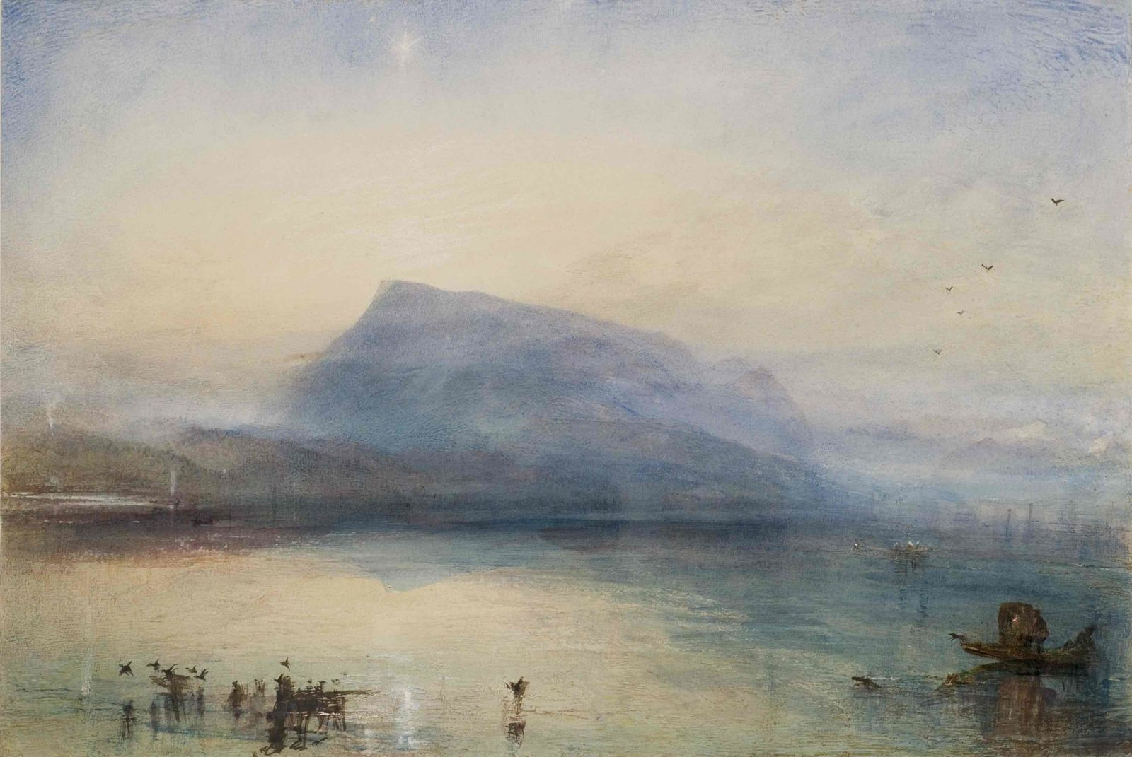 William Turner, The Blue Rigi, Sunrise,