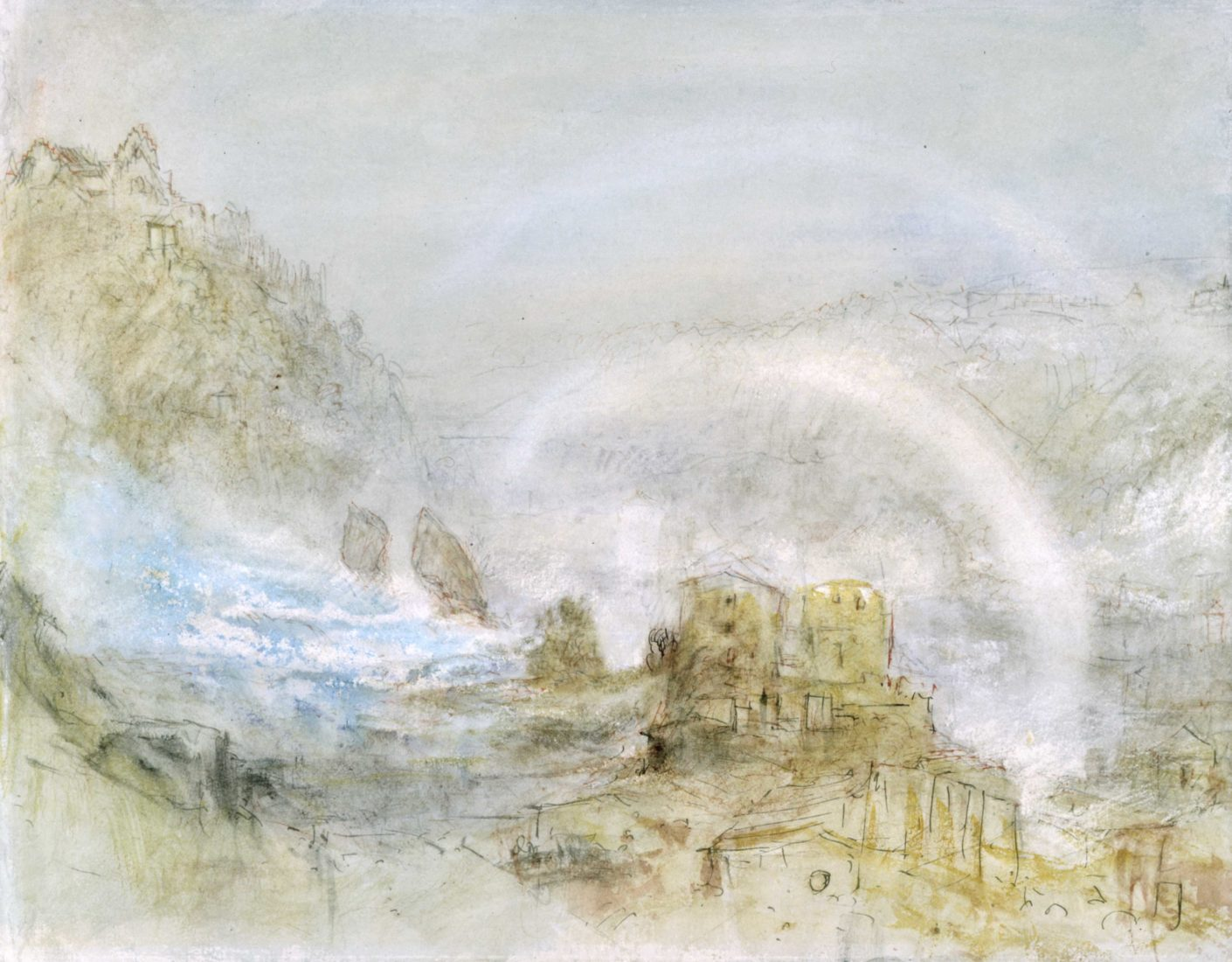 William Turner, Der Rheinfall bei Schaffhausen