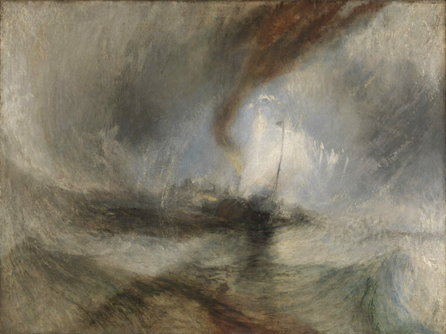 William Turner, Snow Storm – Steam-Boat off a Harbour's Mouth