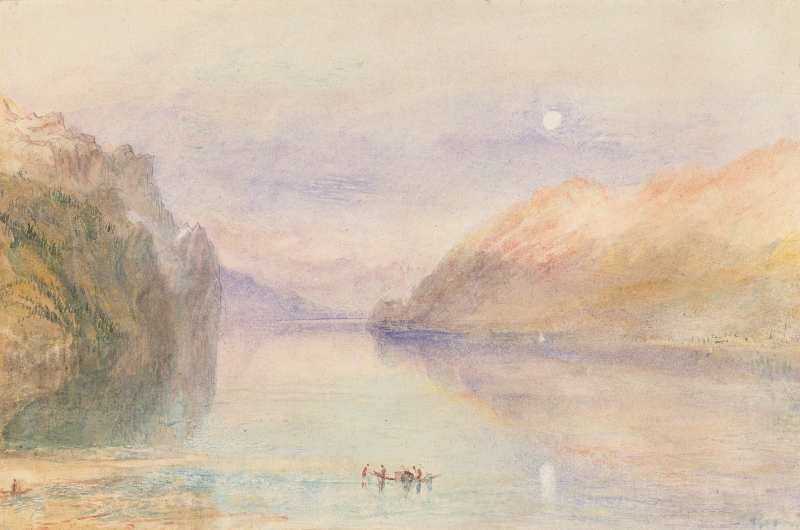 William Turner, A Swiss Lake