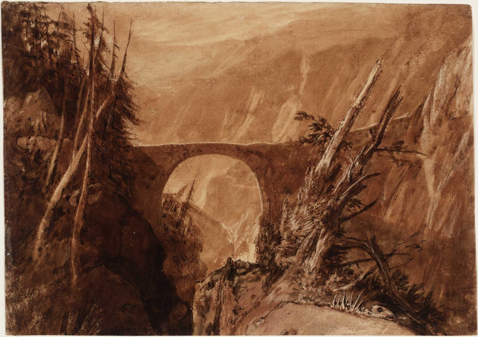 William Turner, Little Devil's Bridge