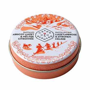 Pastilles Pharmalp Abricot Luizet & Mélisse citronnée