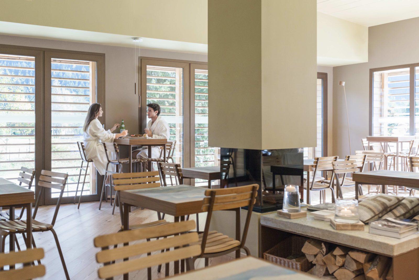 QC Terme Chamonix salle à manger