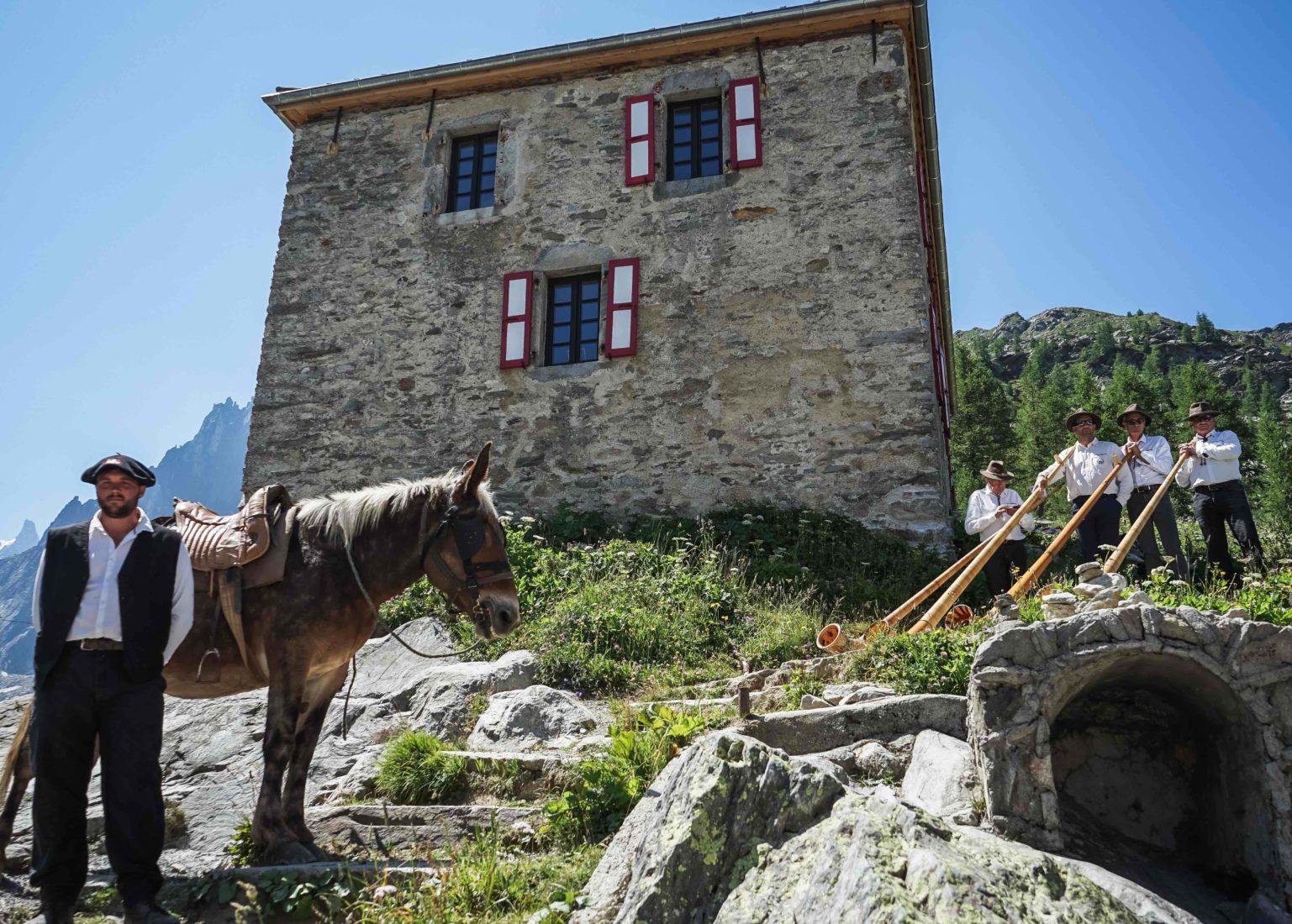 Chamonix fête montenvers 110 ans