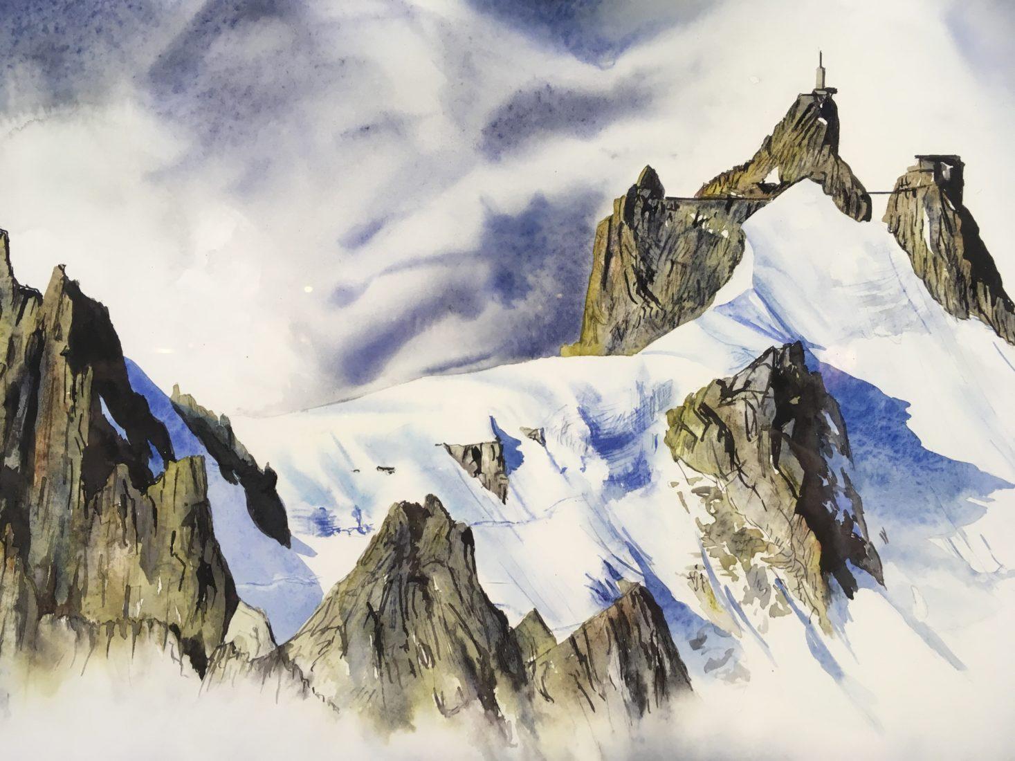 Guy Tournier Chamonix Aiguille du Midi