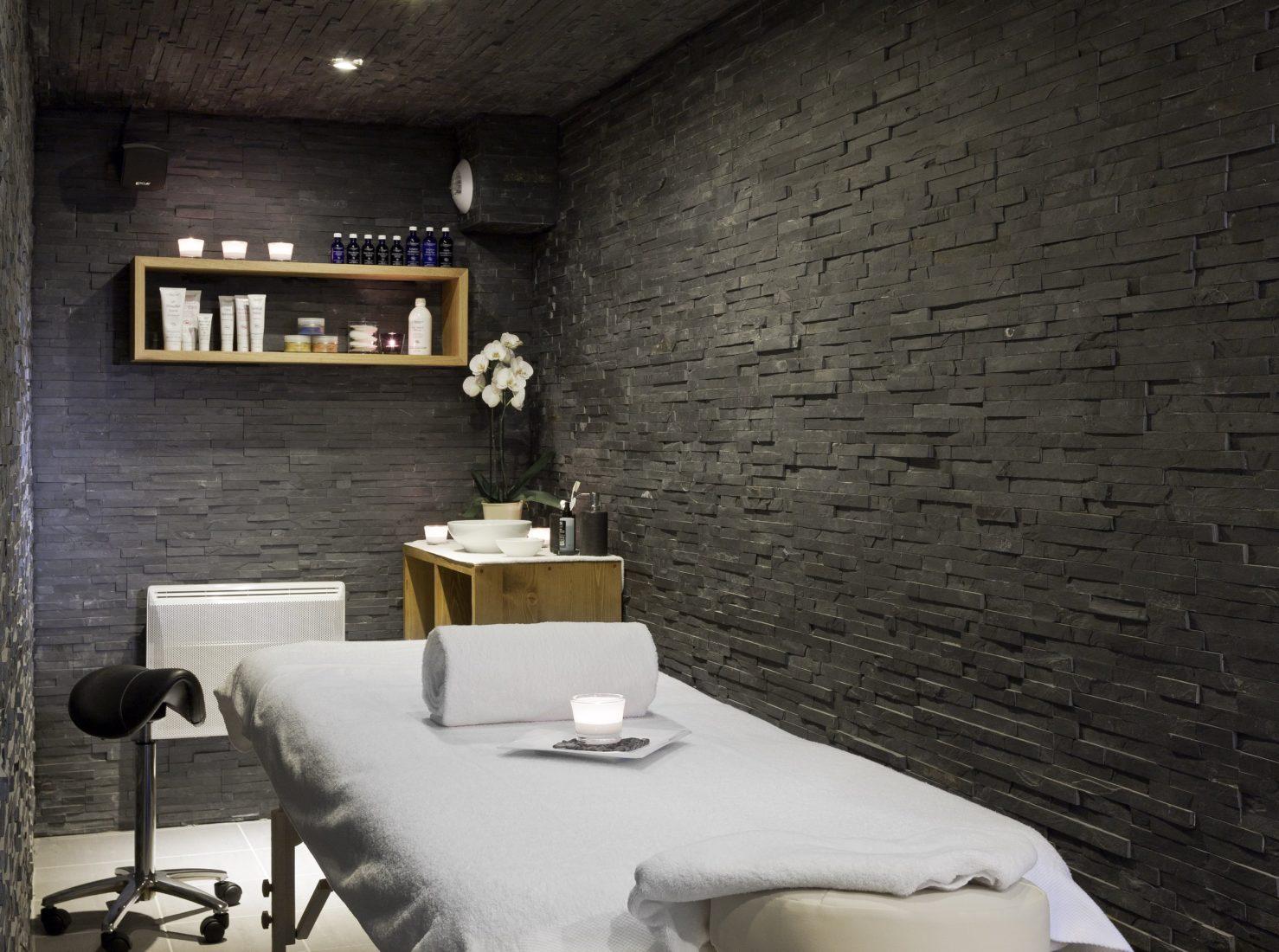 Chamonix Le Faucigny salle de massage