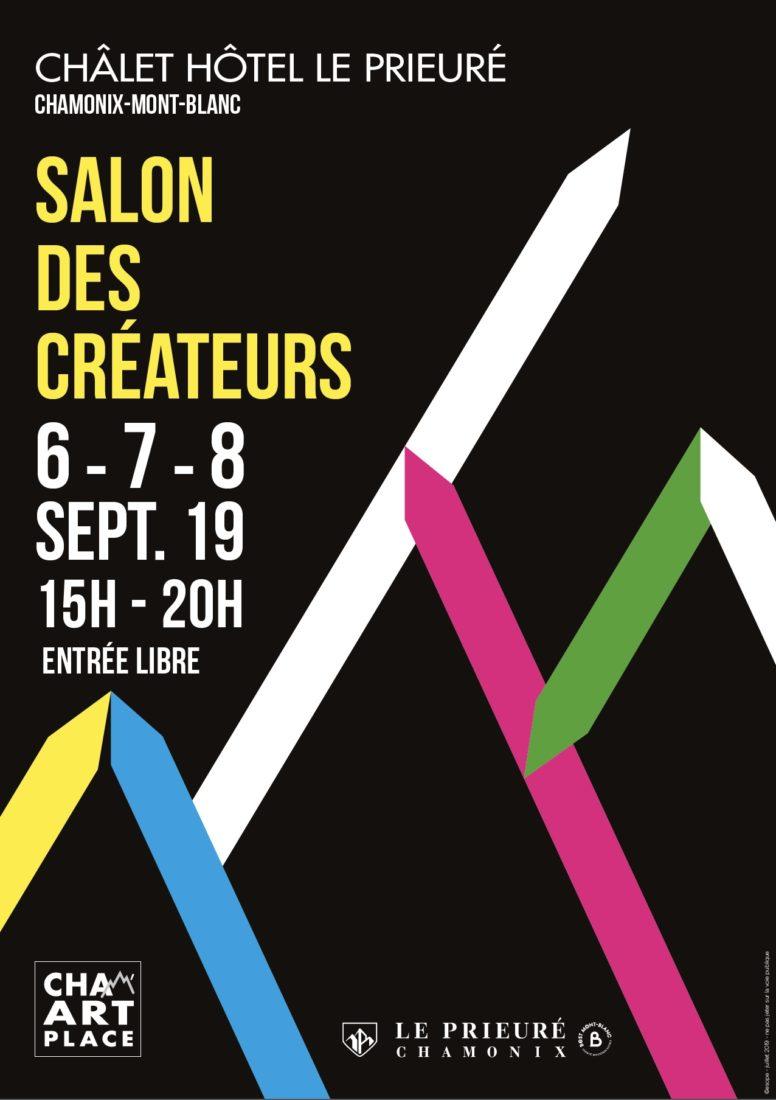 Chamonix affiche salon des créateurs 2019