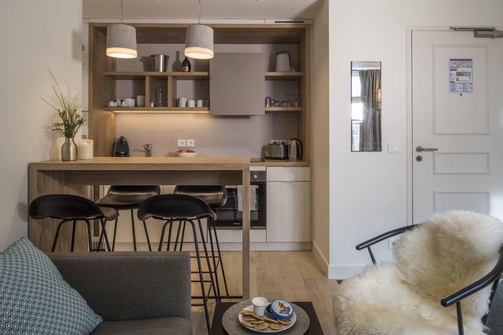 Chamonix Le Génépy projet appart hôtel