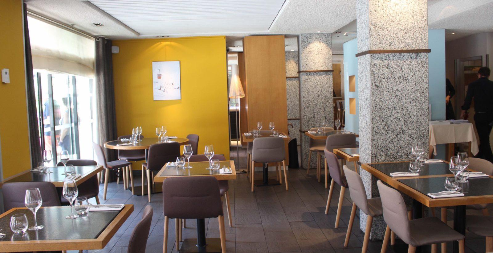 Le Comptoir Nordique Chamonix vue de la salle à manger