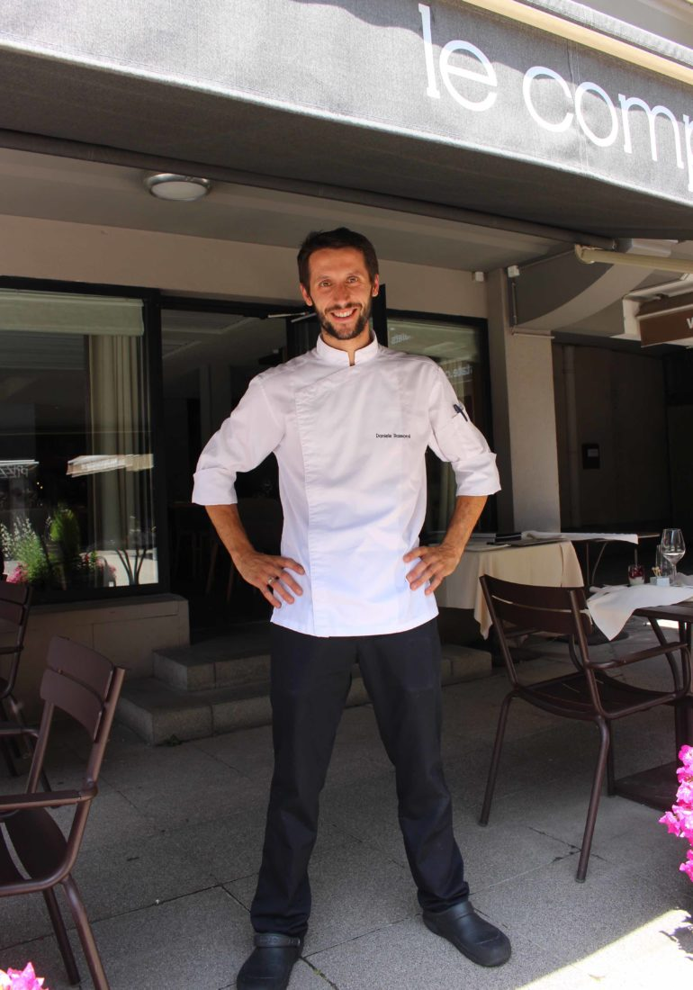 Daniele Raimondi Chef Le Comptoir nordique Chamonix