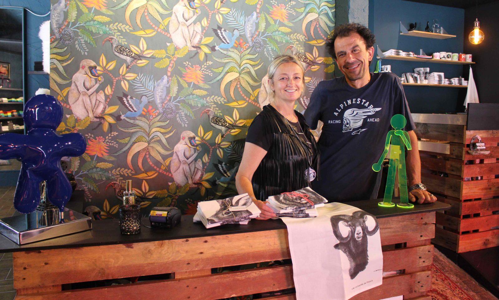 Chamonix Laetitia Bérille et Nicolas Semy Bobos de l'aiguille