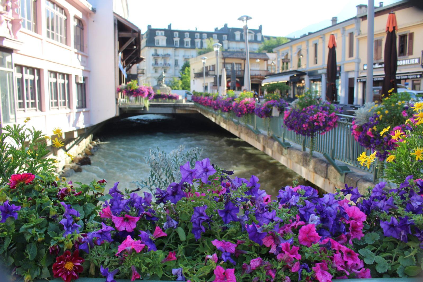 Chamonix pont sur l'Arve