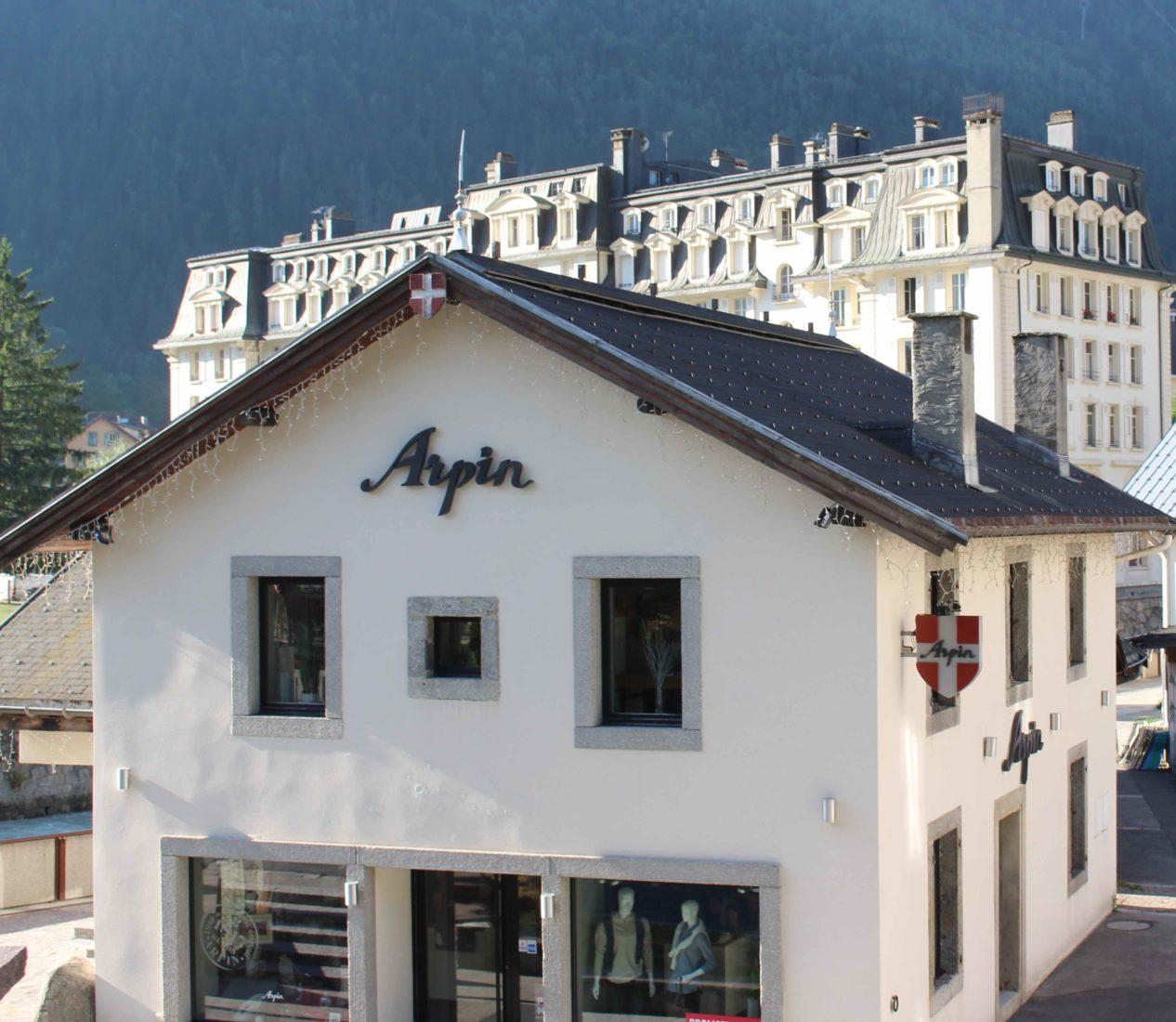 Chamonix boutique Arpin