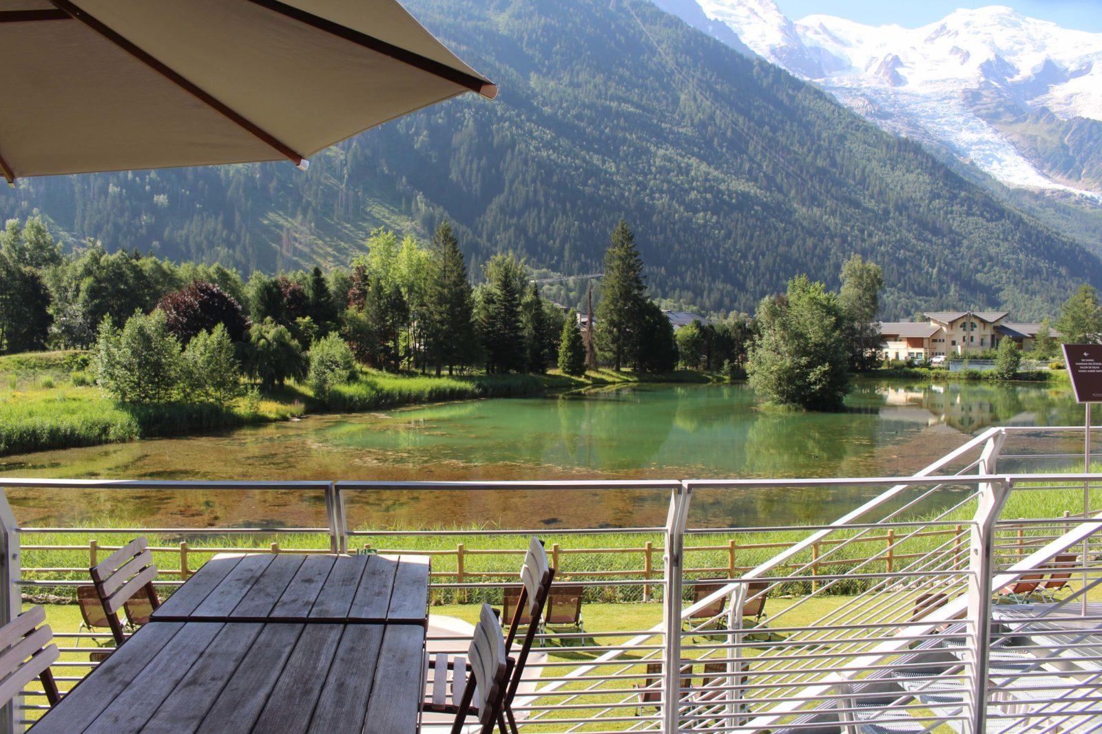 QC Terme Chamonix vue sur le lac