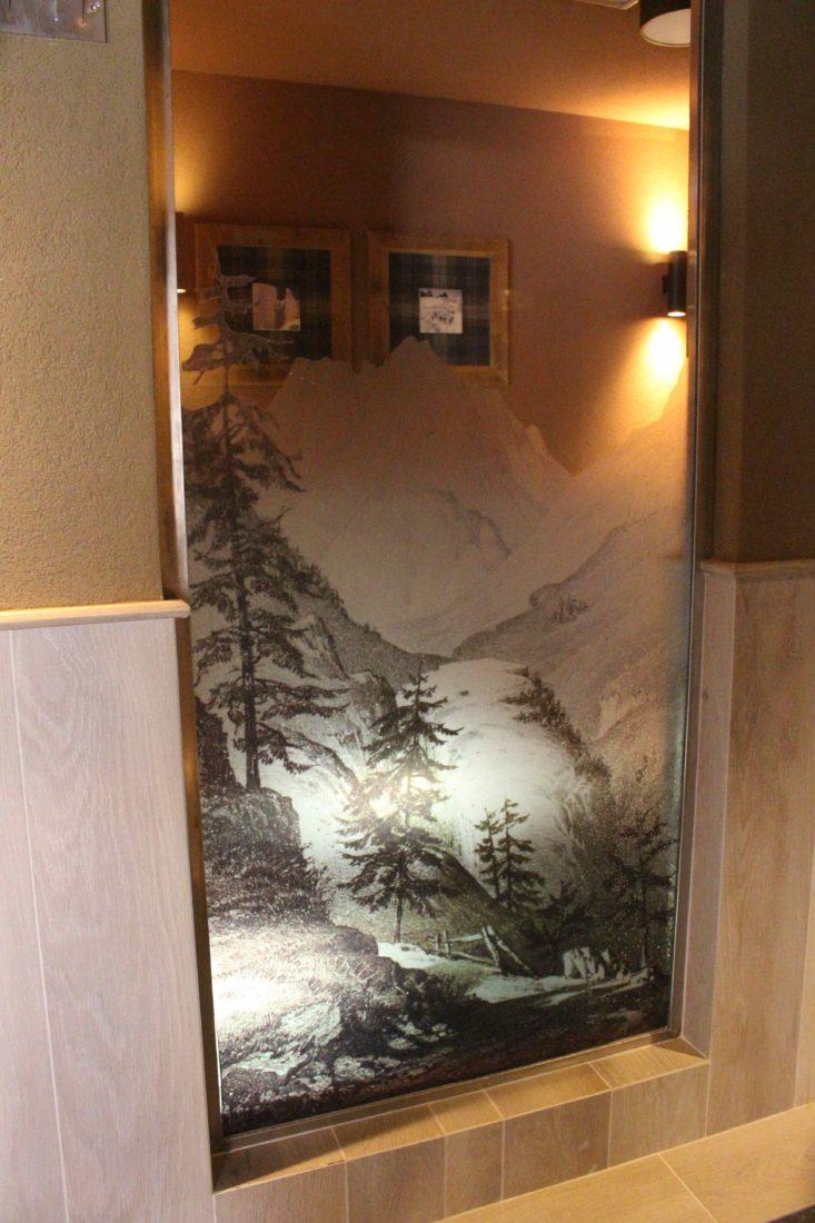 QC Terme Chamonix décor montagne