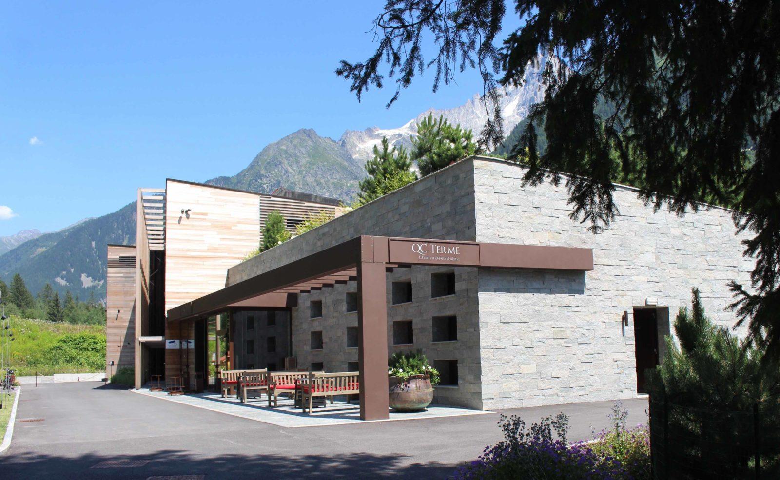 Vue sur QC Terme Chamonix