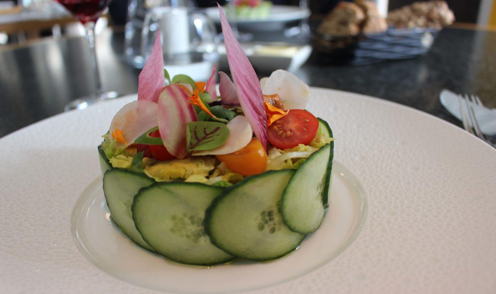 Comptoir nordique Chamonix salade mêlée